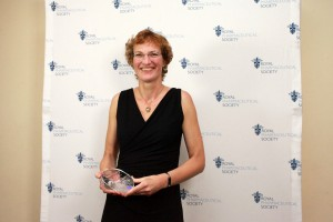 2014 Pharmacy Research UK Award recipient Dr Ellen Schafheutle